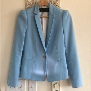 Zara blazer blue XS - gorgeous fit and color!